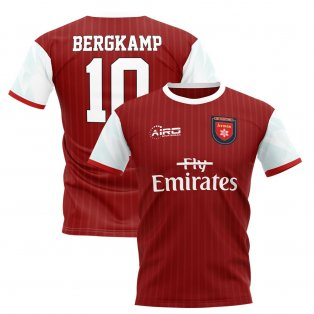 48d56045a 2019-2020 Dennis Bergkamp Home Concept Football Shirt