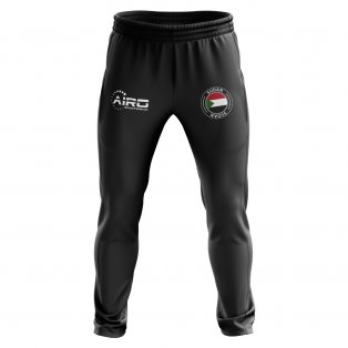 Sudan Concept Football Training Pants (Black)
