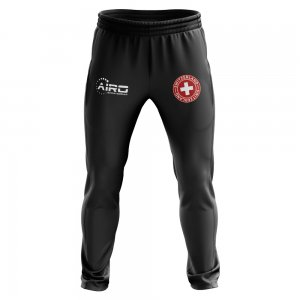 Switzerland Concept Football Training Pants (Black)
