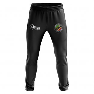 Saint Kitts and Nevis Concept Football Training Pants (Black)