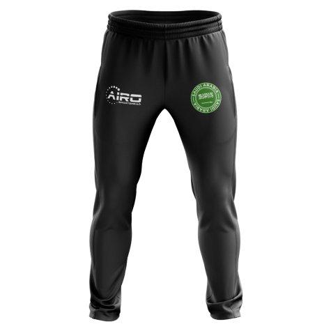 Saudi Arabia Concept Football Training Pants (Black)