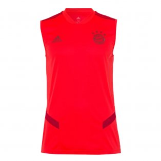 2019-2020 Bayern Munich Adidas Sleeveless Shirt (Red)
