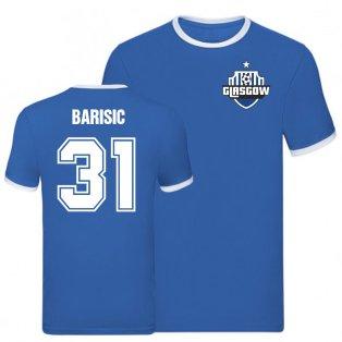 Borna Barisic Rangers ringer Tee (Blue)