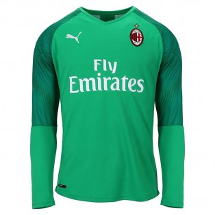 2019-2020 AC Milan Puma Home Goalkeeper Shirt (Green)