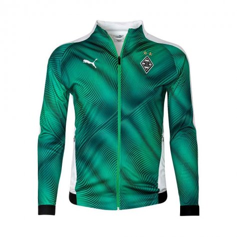 2019-2020 Borussia MGB Puma Stadium Jacket (Green)