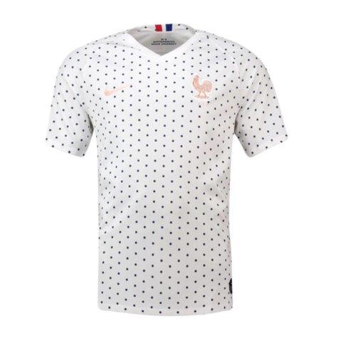 2019-2020 France Away Nike Football Shirt