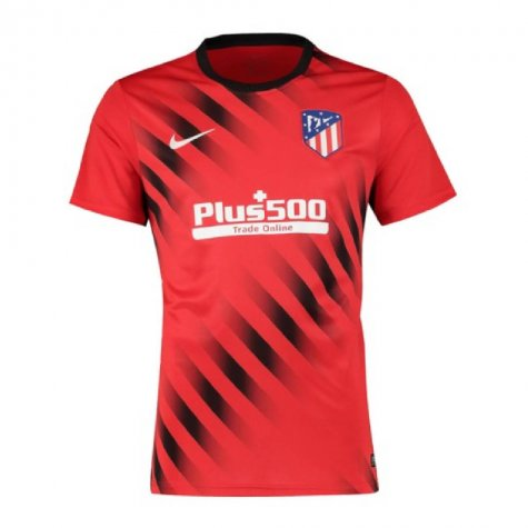 2019-2020 Atletico Madrid Nike Pre-Match Dry Training Shirt (Red)