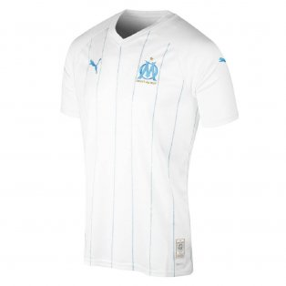 2019-2020 Olympique Marseille Puma Home Football Shirt