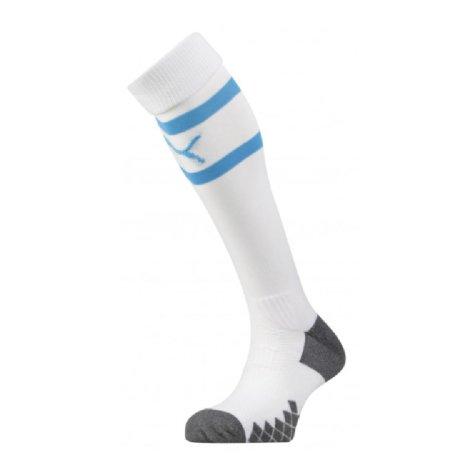 2019-2020 Olympique Marseille Home Puma Socks (White)