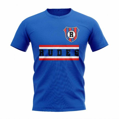 Nk Rudeš Core Football Club T-Shirt (Royal)