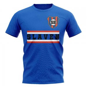 NK Slaven Belupo Core Football Club T-Shirt (Royal)