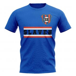 NK Slaven Belupo Core Football Club T-Shirt (Royal)