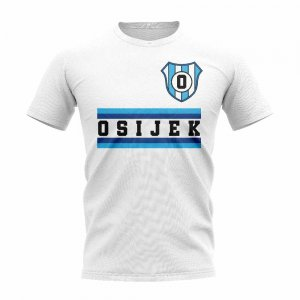 NK Osijek Core Football Club T-Shirt (White)