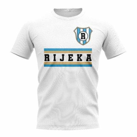 Hnk Rijeka Core Football Club T-Shirt (White)