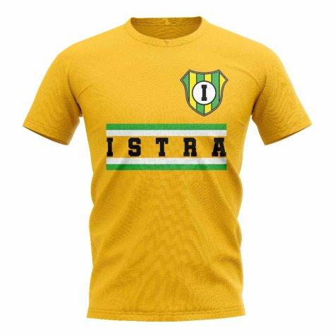NK Istra 1961 Core Football Club T-Shirt (Yellow)