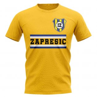 NK Inter Zaprešic Core Football Club T-Shirt (Yellow)