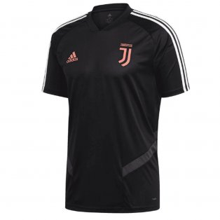 2019-2020 Juventus Adidas Training Shirt (Black) - Kids