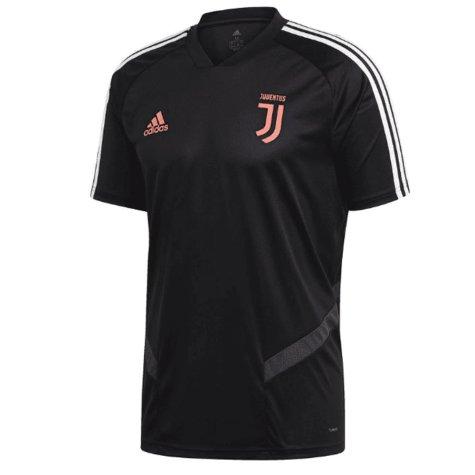 2019-2020 Juventus Adidas Training Shirt (Black) - Kids