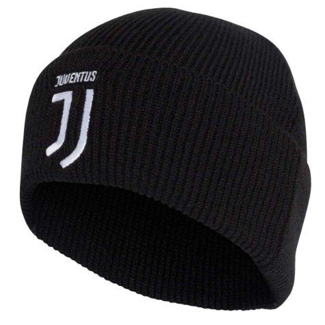 2019-2020 Juventus Adidas Woolie Hat (Black)