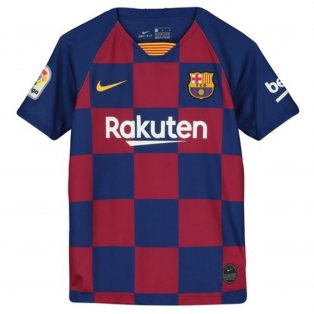 2019-2020 Barcelona Home Nike Shirt (Kids)