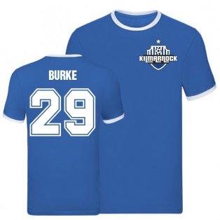 Chris Burke Kilmarnock Ringer Tee (Blue)