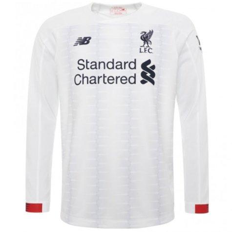 2019-2020 Liverpool Away Long Sleeve Shirt