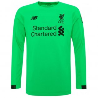 2019-2020 Liverpool Away Long Sleeve Goalkeeper Shirt (Kids)
