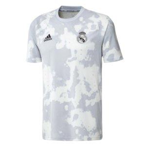 2019-2020 Real Madrid Adidas Pre-Match Training Shirt (White)
