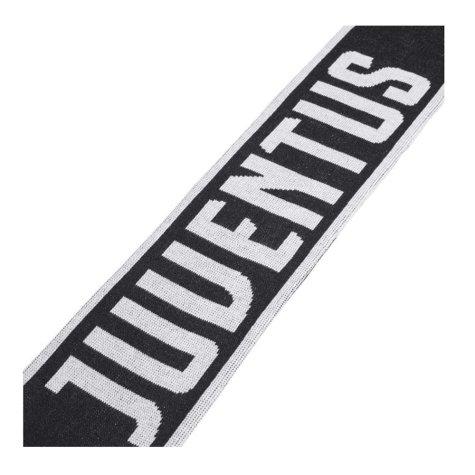 2019-2020 Juventus Adidas 3S Scarf (Black-White)