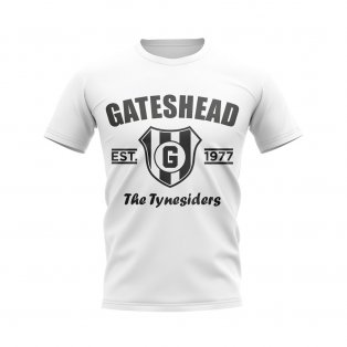 Gateshead Established Football T-Shirt (White)