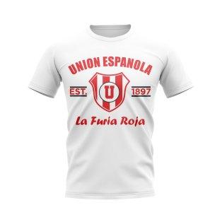 Union Espanola Established Football T-Shirt (White)