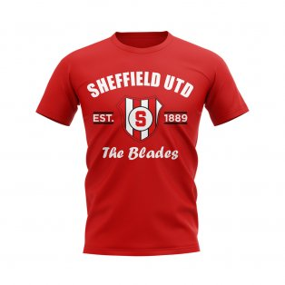 Sheffield United Established Football T-Shirt (Red)