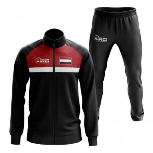 Yemen Concept Football Tracksuit (Black)