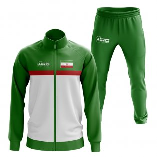 Iran Concept Football Tracksuit (Green)