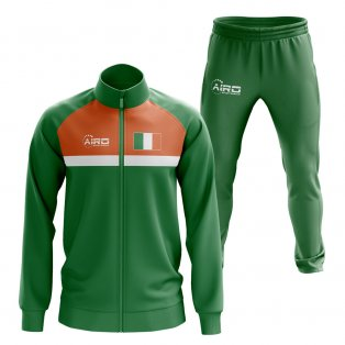 Ireland Concept Football Tracksuit (Green)