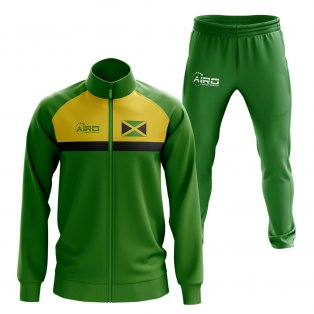 Jamaica Concept Football Tracksuit (Green)