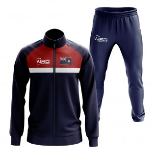 Turks and Caicos Concept Football Tracksuit (Navy)