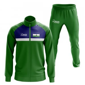 Lesotho Concept Football Tracksuit (Green)