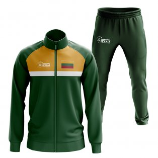 Lithuania Concept Football Tracksuit (Green)