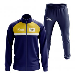 Virgin Islands Concept Football Tracksuit (Navy)