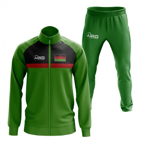 Malawi Concept Football Tracksuit (Green)