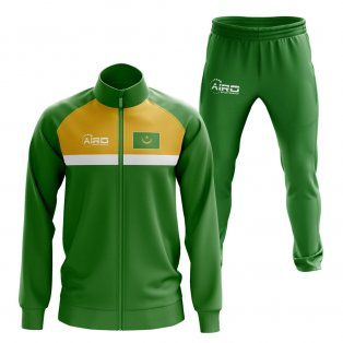 Mauritiana Concept Football Tracksuit (Green)