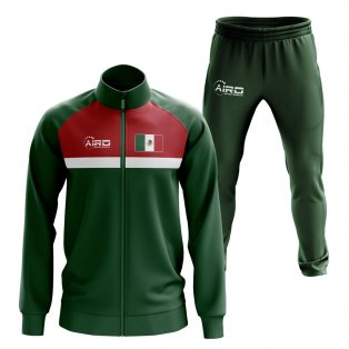 Mexico Concept Football Tracksuit (Green)