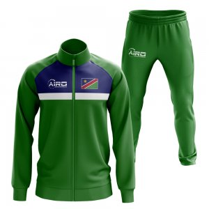 Namibia Concept Football Tracksuit (Green)