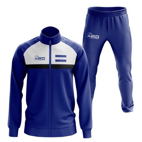 Honduras Concept Football Tracksuit (Blue)