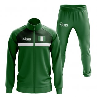 Nigeria Concept Football Tracksuit (Green)