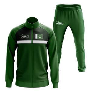 Pakistan Concept Football Tracksuit (Green)