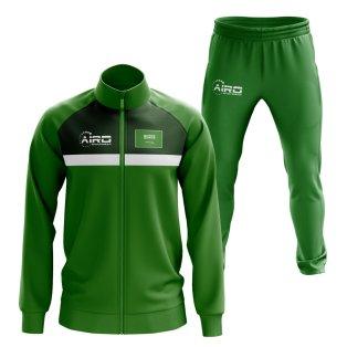 Saudi Arabia Concept Football Tracksuit (Green)