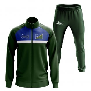 Solomon Islands Concept Football Tracksuit (Green)