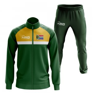 South Africa Concept Football Tracksuit (Green)